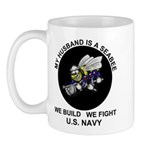 Seabee Husband U.S. Navy Mug