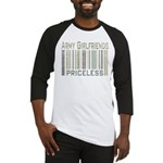 Army Girlfriends Priceless Barcode Baseball Jersey