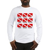 Dive Flags of the World Long Sleeve T-Shirt