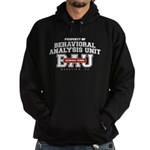 Property of Behavioral Analysis Unit - BAU Dark Hoodie (dark)