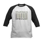 Marines Proud Military Kids Baseball Jersey