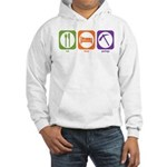 Hooded Sweatshirt : Sizes S,M,L,XL,2XL  Available colors: White,Heather Grey