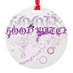 Good Witch Round Ornament