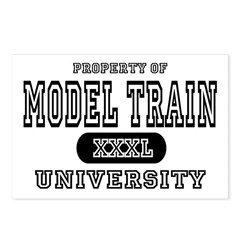 Model Train University  Postcards (Package of 8)
