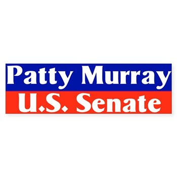 Re-Elect Patty Murray to the U.S. Senate bumper sticker