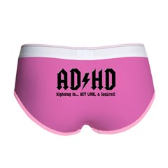 AD/HD Look a Squirrel Women's Boy Brief