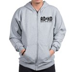 AD/HD Look a Squirrel Zip Hoodie