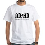 AD/HD Look a Squirrel White T-Shirt