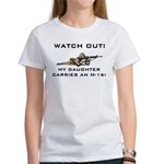 MILITARY DAUGHTER M-16 Women's T-Shirt