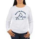 Don't Be Scared Shark Women's Long Sleeve T-Shirt
