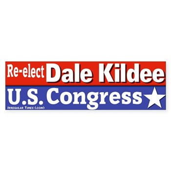 Re-Elect Dale Kildee to the U.S. Congress bumper sticker