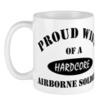 Proud Wife Airborne Soldier Mug