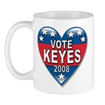 Vote Alan Keyes 2008 Political Mug