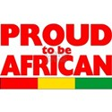 PROUD AFRICAN White T-Shirt