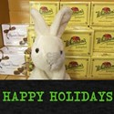 HAPPY HOLIDAYS RUSSELL/ WHITMAN RABBIT. T-Shirt