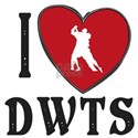 I Heart DWTS White T-Shirt