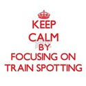 Keep calm by focusing on on Train Spotting T-Shirt