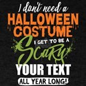 Scary Costume T-Shirt