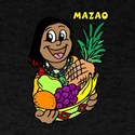 Mazao with lady & fruit.png T-Shirt