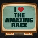 Retro I Heart The Amazing Race T-Shirt