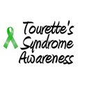 Tourette's Syndrome White T-Shirt