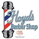 Floyds Barber Shop White T-Shirt