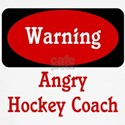 Angry Hockey Coach