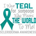 Scleroderma Means World To Me T-Shirt