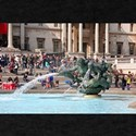 Fountain, Trafalgar Square, London, Englan T-Shirt