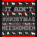 It Aint Christmas Without My Keeshonden T-Shirt