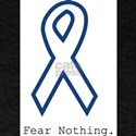 Navy Blue: Fear Nothing T-Shirt