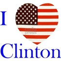 I Love Clinton! White T-Shirt