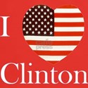 I Love Clinton! T-Shirt