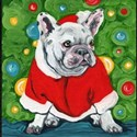 French Bulldog Santa T-Shirt
