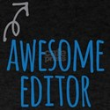 Awesome editor T-Shirt
