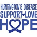 Huntington's Disease Support Ribbon T-Shirt