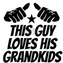 This Guy Loves His Grandkids T-Shirt