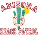 Arizona Beach Patrol White T-Shirt