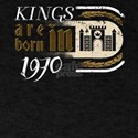 Gothic Birthday Kings Castle Born 1970 T-Shirt