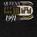 Gothic Birthday Queens Castle Born 1941 T-Shirt