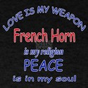 French Horn is my religion T-Shirt
