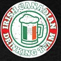 Irish Canadian Drinking Team Beer St Patri T-Shirt
