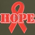Red Hope Ribbon T-Shirt