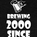 Brewing Since 2000 Beer Fathers Day Gift T-Shirt