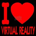 I Love Virtual Reality T-Shirt
