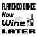 Flamenco Dance Now Wine Lat Shirt
