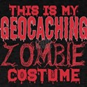 This Is My Geocaching Zombie Costume Hallo T-Shirt