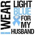 I Wear Light Blue Husband Shirts & Gifts
