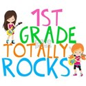 1st Grade Rocks Shirt