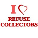 I love Refuse Collectors T-Shirt